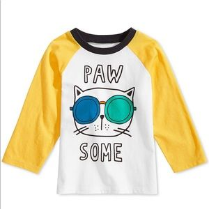 First Impressions Baby Boys Pawsome Graphic Tee